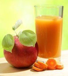 smoothies-para-bajar-de-peso-zanahoria-y-manzana