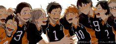 How can I not repin this!? Haikyuu / hq / karasuno / volleyball