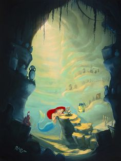 Ariel, The Little Mermaid, Disney Princess, Disney Fan Art Ariel Disney, Disney Little Mermaids, Ariel The Little Mermaid, Walt Disney, Disney Princess, Ariel Mermaid, Mermaid Disney, Disney And More, Disney Love