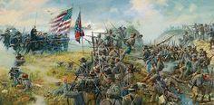 1863-07-01 - The Railroad Cut - Dale Gallon