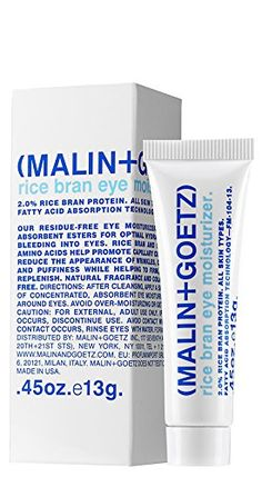 Malin   Goetz Rice Bran Eye Moisturizer-0.5 oz. >> Check this awesome image  : Travel Skincare