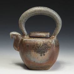 Jason Bohnert, wood fired Tea Pot, In Tandem Gallery www.intandemgallery.com