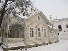 ,russian wooden house