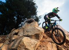 Before heading to New Zealand for the start of the Enduro World Series, Yoann and the rest of the team spent a week in Southern California testing new equipment and sharpening their skills on the rugged trails of Santa Barbara.