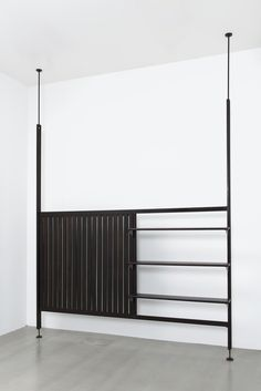 Jean Prouvé . rack-and-pinon room partition, 1952