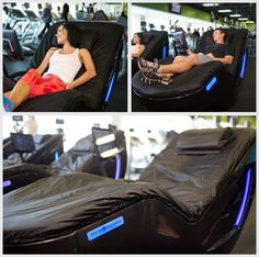The Hydromassage Lounge Is The New And Powerful Upright