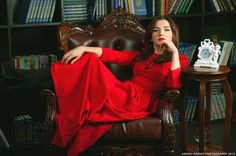 the red dress by Andrei Rudkovsky on 500px