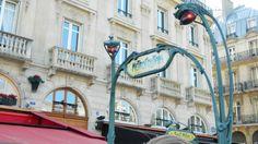 Paris France Metro Transit