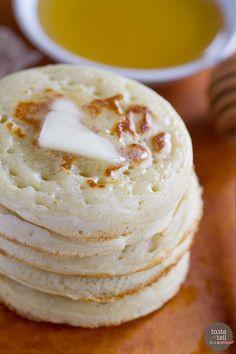 Crumpet Recipe - Tas