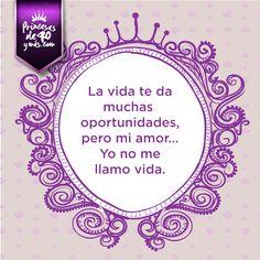 jajajaja cierto. #chiste #cita #quotes #lol  #PrincesasDe40