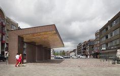 Marie-José Van Hee Architecten en Robbrecht & Daem - Stadsluifel - Deinze