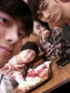 #Taecyeon #Seulong #2AM #2PM #Oneday #Ga-In #Chansung