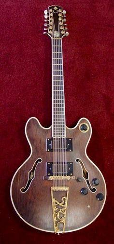 David Crosby's Alembic Starfire 12 string guitar...