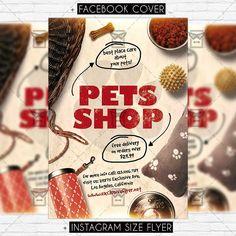 Pets Shop - Premium Flyer Template https://www.exclusiveflyer.net/product/pets-shop-premium-flyer-template/