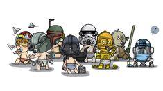 star wars babies 1000day l