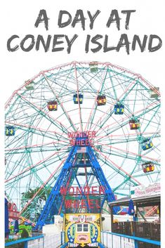 A Day at Coney Island New York
