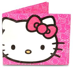 Hot Pink Hello Kitty Mighty Recycled Wallet