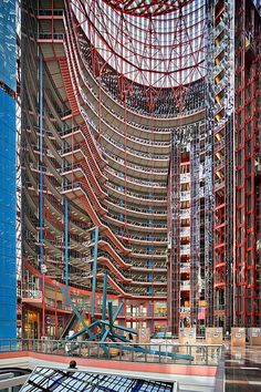 State of Illinois Thompson Center | Chicago, IL | Helmut Jahn, CF Murphy