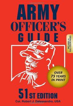 Bestseller Books Online Army Officer's Guide Col. Robert J. Dalessandro USA $16.92  - http://www.ebooknetworking.net/books_detail-0811735281.html