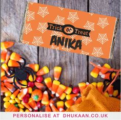A range of halloween gifts that can be personalised, ideal for him, her, couples or children. Think Pumpkins, costumes, crafts, movies, horror, ghosts, halloween party, inspiration, halloween cards & invites, baby\'s first halloween, party decorations, spooky beauty, trick or treat, sugar skull and day of the dead  Personalise candle at www.dhukaan.co.uk