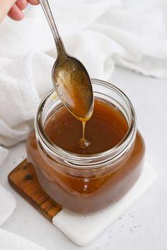 Caramel Syrup Recipe, Caramel Apple Cider Recipe, Caramel Recipes, Apple Recipes, Yummy Recipes, Yummy Food, Apple Spice Cake
