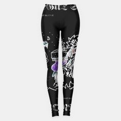 New Vonnegut Sludge ladies leggings available exclusively from the Mordichai Music (& everything) UniVerse @ Live Heroes