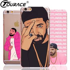 Drake Capinhas For Iphone 5s Case Ultra Slim Fashion Transparent PC Phone Bag Cover Case For Iphone 6s SE 6 Plus 5 Fundas *** You can find out more details at the link of the image.