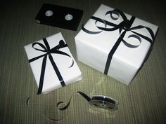 Gift-Wrapping With Old VHS Tapes!