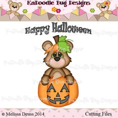 {FREE} Happy Halloween Bear --not sure how long this is available for free