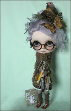 (via next custom blythe for auction | Flickr - Photo Sharing!)