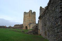 Richmond Castle, Richmond, North Yorkshire, U.K.