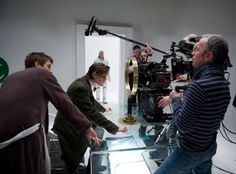 """Behind the scenes on """"The Girl Who Waited"""" Arthur Darvill, Doctor Who Tv, Rory Williams, Matt Smith, Scene Photo, The Girl Who, Tardis, Behind The Scenes, Waiting"""