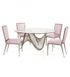 """""""DNA"""" dining set  by Johnston Casuals Furniture http://johnston.nextmp.net/index.php/dna-small-dining-set.html"""