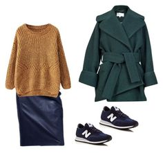 """Untitled #44"" by chertik-alena on Polyvore featuring Carven and New Balance"
