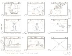 Dalmatians Storyboard  Animation Reference