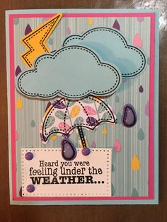 Fun Stampers Journey Hello puddles ❤️in this bundle! -Stampin Sage Designs. If you'd like to purchase the products from this (from Stampin Sage Designs) card, go to my site: funstampersjourney.com/karens