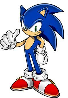 Sonic The Hedgehog - wallpaper HD Sonic The Hedgehog, Hedgehog Art, Shadow The Hedgehog, Fotos Do Sonic, Sonic Party, Sonic Birthday, Sonic Adventure, Sonic Heroes, Art Diy