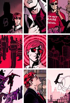 Matt Murdock - Daredevil - Love the style of this! | HW
