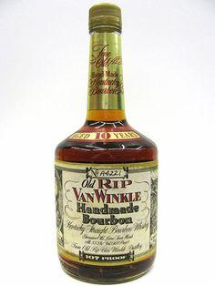 Old Rip Van Winkle 10yr Squat Bottle