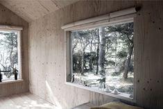 ERMITAGE, CABANE Trossö, Suède Programme : cabane avec une chambre et un sauna Maîtrise d'ouvrage : privée Mission : complète Calendrier :...