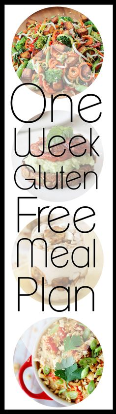 This 1 week gluten free meal plan is your one-stop shop for a healthy weeks worth of naturally gluten free meals. No need to look for crazy expensive ingredients in health food stores- we have you covered with these easy and delicious recipes.