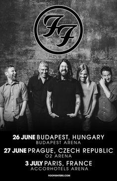 GoRockfest.Com: Foo Fighters Tour Dates 2017