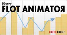 jQuery Flot Animator plugin