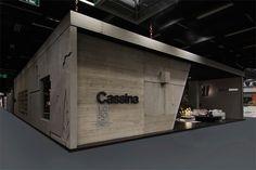 cassina stand at imm cologne cites modern architecture of le corbusier - designboom | architecture
