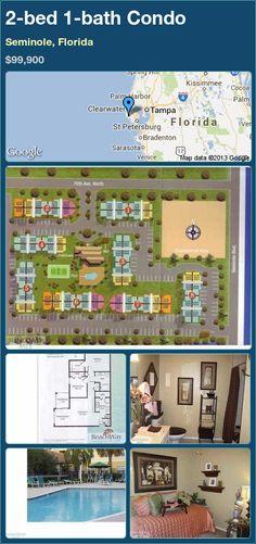 2-bed 1-bath Condo in Seminole, Florida ►$99,900 #PropertyForSale #RealEstate #Florida http://florida-magic.com/properties/9609-condo-for-sale-in-seminole-florida-with-2-bedroom-1-bathroom