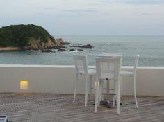 Secrets Huatulco Resort & Spa: Bar with a view