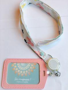 Porte badge, porte clés, porte passe carte : Porte clés par socraquou