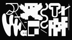Collection of illegible letters by Armin Hofmann, Adrian Frutiger, Wolfgang Weingart, Neville Brody, Tobias Frére Jones, Cornel Windlin, Ahn Sang-Soo