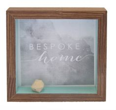 These gorgeous box frames are a fantastic addition to any home. Perfect for hanging on a wall or sitting on a table / shelf they are a great way to display not only your treasured photos, but also a memory of the day or event. www.bespokeartframing.com