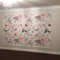 Dusty Rose Baby Girl Wallpaper Wallpaper Nursery Decor   Etsy